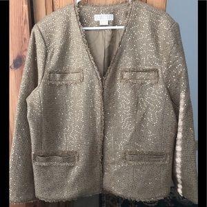 Michael by Michael Kors Sequin Jacket